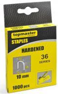Скоби для ручного степлера Topmaster 10 мм тип 36 (L) 1000 шт. 511336