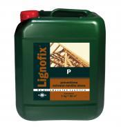 Биозащита Lignofix P концентрат коричневый Коричневый 5 кг