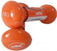 Гантелі LiveUp LS2001-1 2 шт. x 1 кг