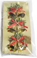 Декоративна підвіска Дзвіночки із бантиком 3х4 см A9-GS0002 4 см