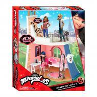 Ігровий набір Miraculous Леді Баг і Супер-Кіт 2 в 1 Спальня та балкон Марінетт 50660