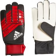 Вратарские перчатки Adidas CW5606 Predator Junior р. 6,5 красный