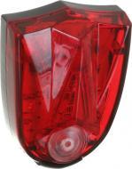 Ліхтар велосипедний LP Electro стоп-фара LP-9390 червоний із чорним