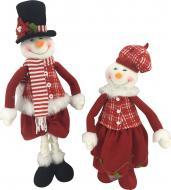 М'яка іграшка Сніговик з висувними ніжками LF1826011AB 62 см