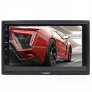 Автомагнитола Lesko 7003А 2DIN 7-ми дюймовый экран сенсор Android 8.1 функция навигатора GPS Blueto