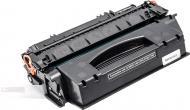 Картридж PowerPlant HP LJ P2014, Canon LBP3310 збільшеної ємності з чіпом PP-Q7553X black