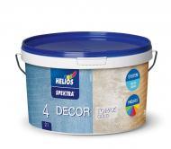 Декоративна фарба Helios SPEKTRA DECOR TOPAZ silver сріблясто-перламутровий 2 л
