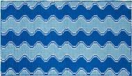 Килимок для ванної Dariana Хвиля 70х120 см блакитний