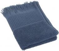 Полотенце Комби махровое 30x70 см синий Simi