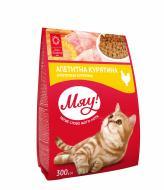Корм Мяу для дорослих котів з куркою 300 г
