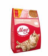 Корм Мяу для дорослих котів з кроликом 300 г