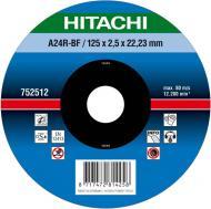 Круг відрізний Hitachi по металу 180x3,0x22,2 752514
