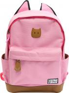 Рюкзак з вушками рожевий