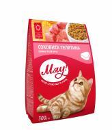 Корм Мяу для дорослих котів з телятиною 300 г