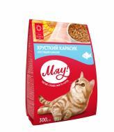 Корм Мяу для дорослих котів з карасем 300 г