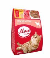 Корм Мяу для дорослих котів з м'ясом 300 г