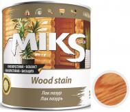Лак-лазурь MIKS Color сосна полуглянец 0,7 кг