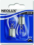 Лампа розжарювання Neolux Standart P21/5W BA15S 12 В 21/5 Вт 2 шт 3200 K