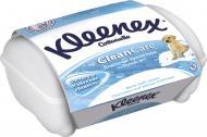 Вологий Kleenex Clean Care контейнер одношаровий 42 шт.
