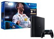 Ігрова консоль Sony PlayStation 4 Slim 1Tb FIFA 18/ PS+14Day black