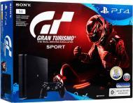 Ігрова консоль Sony PlayStation 4 Slim 1Tb Gran Turismo black