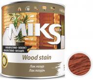 Лак-лазурь MIKS Color черешня полуглянец 0,7 кг