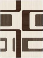 Плитка Golden Tile Вельвет бежевий декор Л61311 25x33