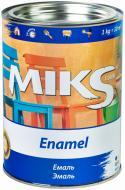 Эмаль MIKS Color алкидная коричневий глянец 0,9кг