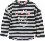 Джемпер для девочки Dirkje р.92 черный с серым D36423-35