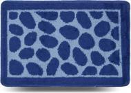 Килимок для ванної кімнати Dariana Каміння 40х60 синій