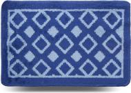 Килимок для ванної кімнати Dariana Плитка 40х60 синій