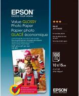 Папір Epson Value Glossy Photo Paper 10х15 см 100 арк. C13S400039