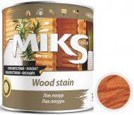 Лак-лазурь MIKS Color тик полуглянец 0,7 кг