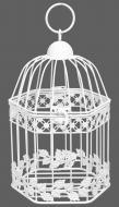 Клетка декоративная Cage Сетка 16х14,5х24,5 см белый