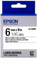 Картридж зі стрічкою Epson LabelWorks LK2WBN