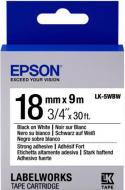 Картридж зі стрічкою Epson LabelWorks LK5WBW
