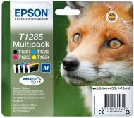 Набір картриджів Epson T1285 (C, M, Y, Bk) C13T12854012 багатокольоровий