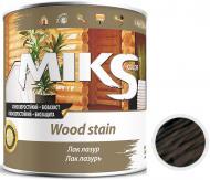 Лак-лазурь MIKS Color палисандр полуглянец 2,2 кг