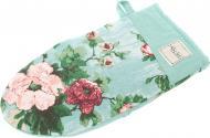 Прихватка-рукавиця Троянди 15x29 см бірюзовий La Nuit