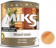 Лак-лазурь MIKS Color безцветная полуглянец 0,7 кг
