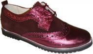Туфлі для дівчаток для дівчинки Bistfor р.33 бордовий 87320/382/904 броги