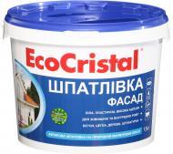 Шпаклівка EcoCristal Фасад ІР-21 15 кг