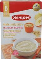 Каша молочна Semper вівсяна з яблуком і бананом 7310100696588 250 г