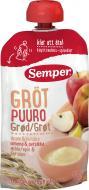 Каша безмолочна Semper мультизлакова каша з яблуком і персиком 120 г