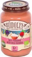 Каша молочна Rudolfs рисова із лісовими ягодами 4751017940358 190 г