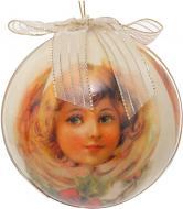 Куля подарункова Янгол d100 199-100122S білий