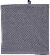 Салфетка махровая 30x30 см светло-серый GM Textile