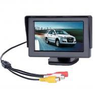 Монитор для камеры заднего вида Terra LCD Color 4.3 Черный (mt-22)