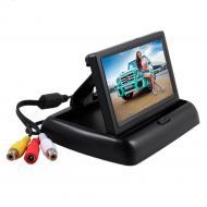Монитор складной Terra LCD Color 5 для камеры заднего вида Черный (mt-214)