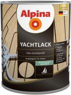 Лак YACHTLACK палубний Alpina шовковистий мат прозорий 2,5 л